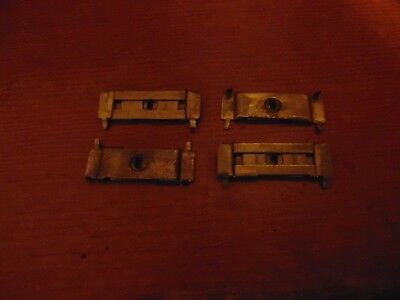 4 Singer sewing cabinet Drawer Latches / locks No Key but easy to open 1920-s