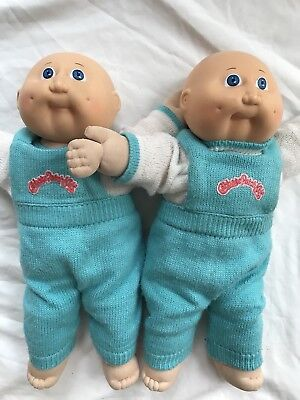 Vintage 1978-82 Cabbage Patch Kids Twins Dolls