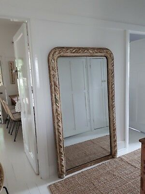 Huge French Mirror ~ Authentic