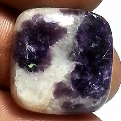 25.70 Ct 100% Natural Exclusive Purple Lepidolite Square Cabochon Loose Gems
