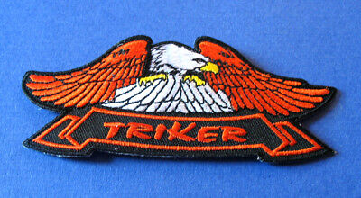 American Eagle and dreamcatcher Embroidered Patch Bobber Chopper Biker Triker
