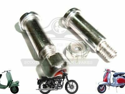 Lambretta Clutch & Brake Lever Screw Bolt Set Li Gp Sx Tv Scooters @de