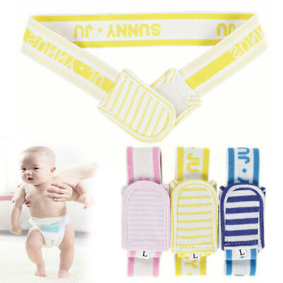 2 Sizes Baby Diaper Sticky Buckle Covers Infant Training Pants Reusable ds3q