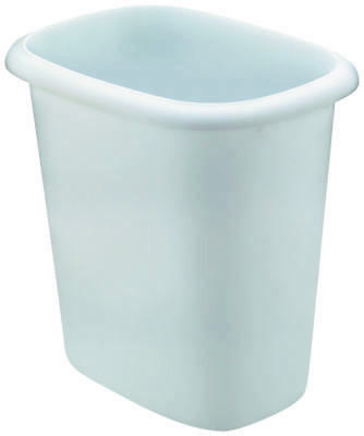 21 Qt Large Open Wastebasket Beauteous Rubbermaid 280500 Small Rectangle Wastebasket 21 Quart New White