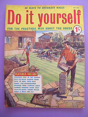 Vintage do it yourself magazine january 1959 450 picclick uk vintage magazine do it yourself july 1959 solutioingenieria Image collections