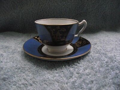 Crown Staffordshire - Duo (Cup & Saucer) - Made in England - c1906-1930
