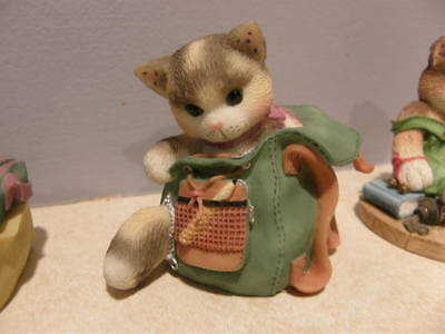 Calico Kittens Lot Of 5 Playful Thinking Of You, Furry Friends, Solitude ++