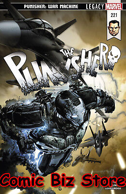 Punisher #221 (2018) 1St Printingbagged & Boarded Marvel Legacy Tie-In
