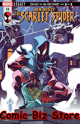 Ben Reilly Scarlet Spider #14 (2018) 1St Printing Bagged & Boarded Legacy Tie-In