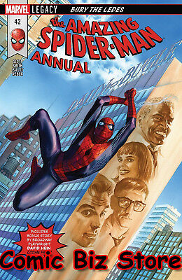 Amazing Spider-Man Annual #42 (2018) 1St Print Marvel Legacy Tie-In