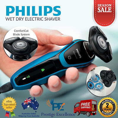 Philips S5050 AquaTouch Wet Dry Electric Shaver Trimmer Cordless Rechargeable