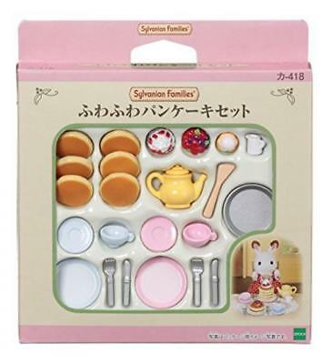 EPOCH Sylvanian Families Furniture Fluffy Pancake Set from Japan*