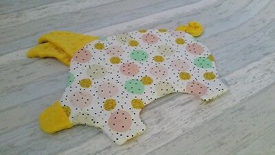Baby infant toddler flat Piglet pillow