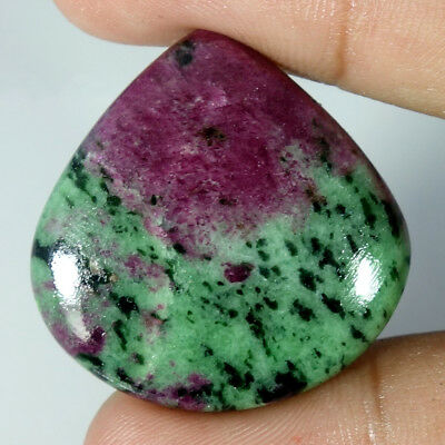 100% Natural Designer Ruby Zoisite Oval, Pear, Cushion, Cabochon Loose Gemstone