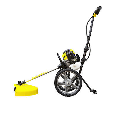 Light Easy To Use Hand Push Garden Strimmer  Petrol 52cc 2.5HP Grass Weed Bush
