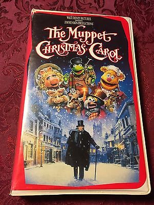 DISNEY'S THE Muppet Christmas Carol (1992 VHS) Jim Henson ...