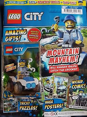 LEGO City Magazine issue  5  31st Jan - 27th Feb 2018 with free Gift