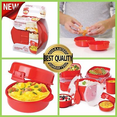 Sistema Red Microwave Easy Eggs Egg Omelette Maker 18001117 Wide Selection; Food Preparation & Tools