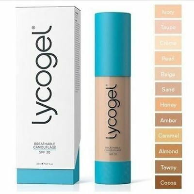 Lycogel Breathable Camouflage Foundation SPF30 ....ALL SHADES
