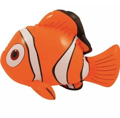 Nemo Inflatable Blow-up Fish Kid's Party Pool Beach Fancy Dress Play Toy 43cm