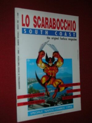 Lo Scarabocchio South Coast The Original Fanfusa Magazine- Speciale Napoli 1993