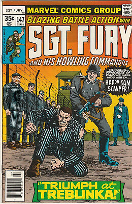 Sgt. Fury and His Howling Commandos #147 FN/VF 1978 Marvel Comics War Bronze Age