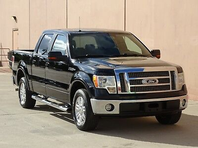 2009 Ford F-150 Lariat Crew Cab 2WD 2009 FORD F-150 LARIAT CREW CAB 2WD! ACCIDENT FREE! CARFAX CERTIFIED! TX TRUCK!