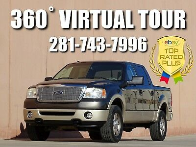 2007 Ford F-150 Lariat Crew Cab Pickup 4-Door 4x4 2007 FORD F-150 LARIAT CREW CAB 4x4! 1 OWNER! ACCIDENT FREE! CARFAX CERTIFIED!