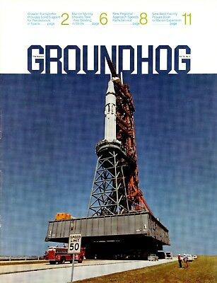 Vol 75 no 2 Marion Power Shovel The Groundhog Magazine SPACE CRAWLER NASA
