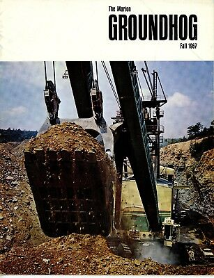 Fall 1967 Marion Power Shovel The Groundhog Magazine