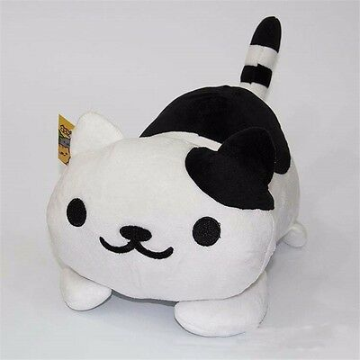 "Game Neko Atsume ねこあつめKitty Collector Spots 12"" Plush Animal Soft Doll Toy Gift"