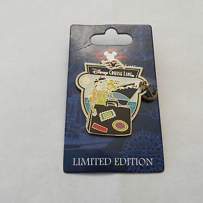 Disney DCL Anchor Characters with Ship Tinker Bell Pin
