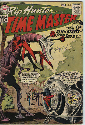 Rip Hunter 2 From 1961 Nice Silver Age DC Comic Legends of Tomorrow