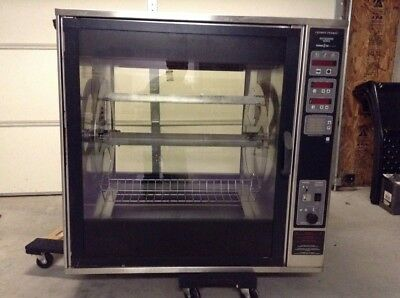 Henny Penny Scr-8 Electric Rotisserie Oven, 3 Phase