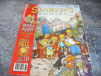 The Simpsons July 2003 Comic 81 Down In The Dumps