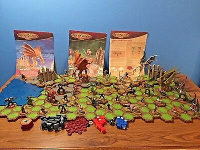 Heroscape Lot - Includes parts from base set and expansions