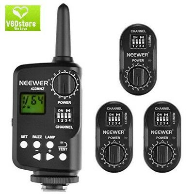 Neewer FT-16 16-Channel Wireless Remote Controller Flash Trigger Set Includes (1