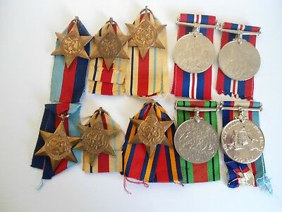 WW2 MEDAL GROUP 10 medals