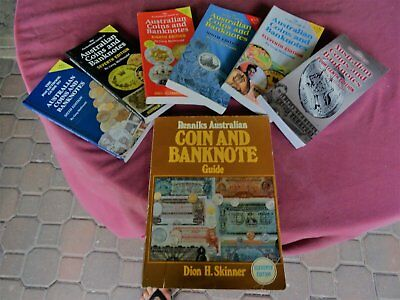 #CC.  POCKET GUIDE TO AUSTRALIAN COINS & BANKNOTES - 6,7,8,9 11 & 14th Editions