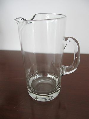 Large glass water jug