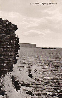 Australia Vintage New South Wales Sydney The Heads