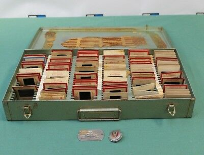 Vintage WWII Era Lot - Over 90 Photo Slides - ASSIGNE ACCOMPLIRONS Pin  & MORE