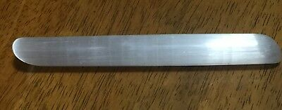 Natural Selenite Message Wand Polished 6inch