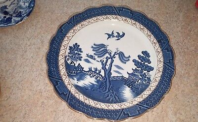 Booth's Real Old Willow 10 3/8 inch dinner plate