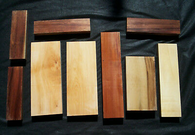 3 kg Pack of Tas Timber Craft Pieces - HUON CELERY SASSAFRAS MYRTLE B'WOOD