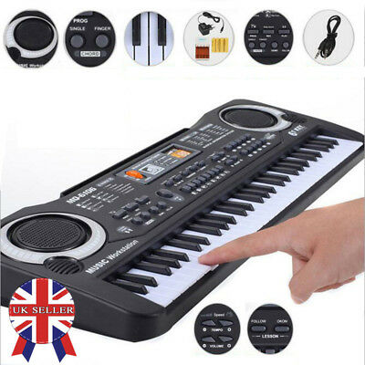 61 Key Digital Music Electronic Keyboard Children Toy Electric Piano Set Wit MIC