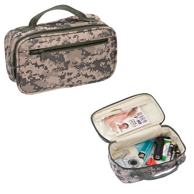Travel Accessories Toiletry Cosmetics Shaving Kit Pouch Bag Army Camouflage