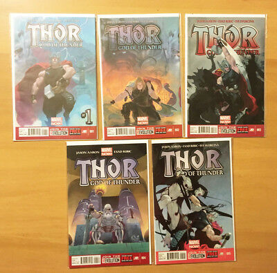 50% off! MARVEL THOR GOD OF THUNDER 25 comic lot 1-25 COMPLETE SERIES