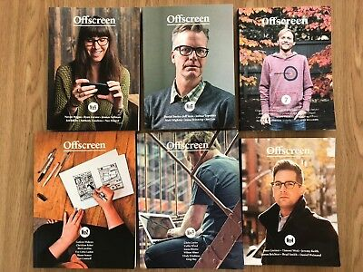 Offscreen Magazine Collection #2–7 The people behind bits and pixels