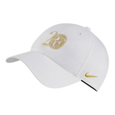 New Nike Roger Federer Hat RF 20 grand-slam Limited Edition BQ1306-100 White